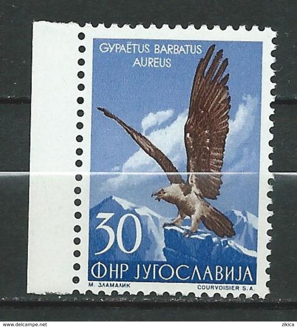 Yugoslavia 1954 Local Fauna.- Birds ( Gypaetus Barbatus Aureus ) MNH - 1945-1992 Repubblica Socialista Federale Di Jugoslavia