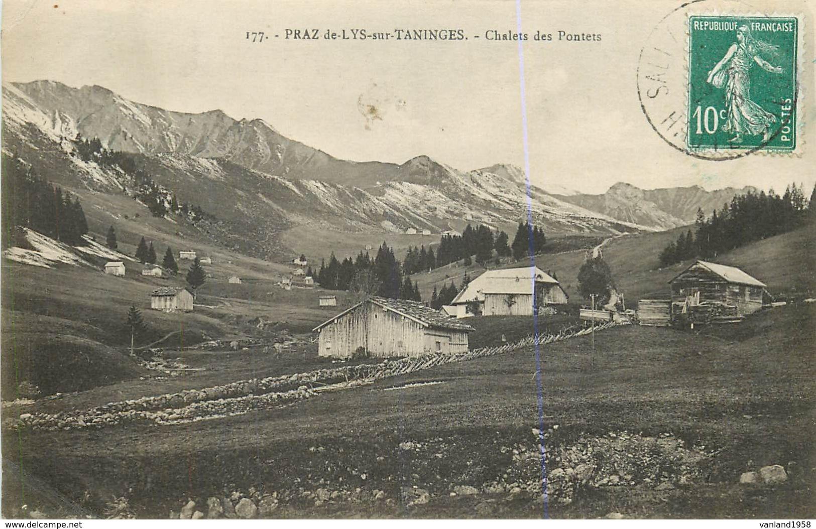 PRAZ De LYS Sur TANINGES-chalet Des Pontets - France