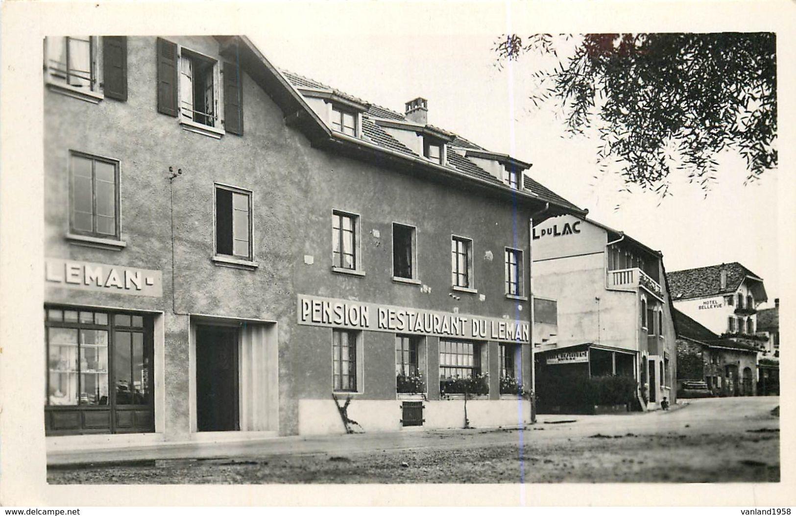 Carte Semie Moderne Petit Format De EXCENEVEX-le Centre Du Village - France
