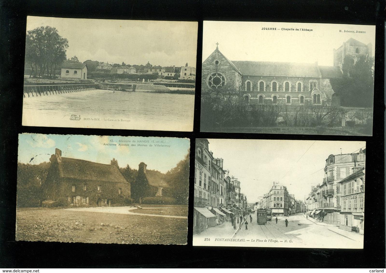 Beau Lot De 60 Cartes Postales De France  Seine - Et - Marne  Mooi Lot Van 60 Postkaarten Van Frankrijk ( 77) - 60 Scans - Cartes Postales