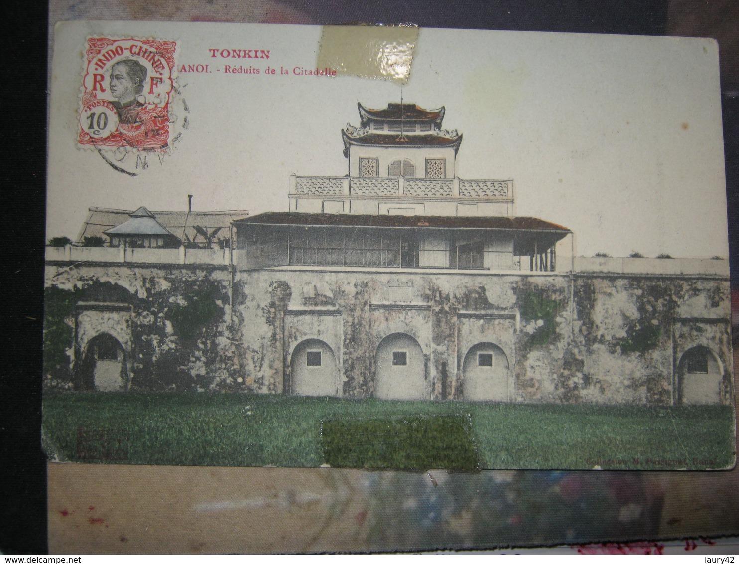Tonkin Reduits De La Citadelle - Postcards