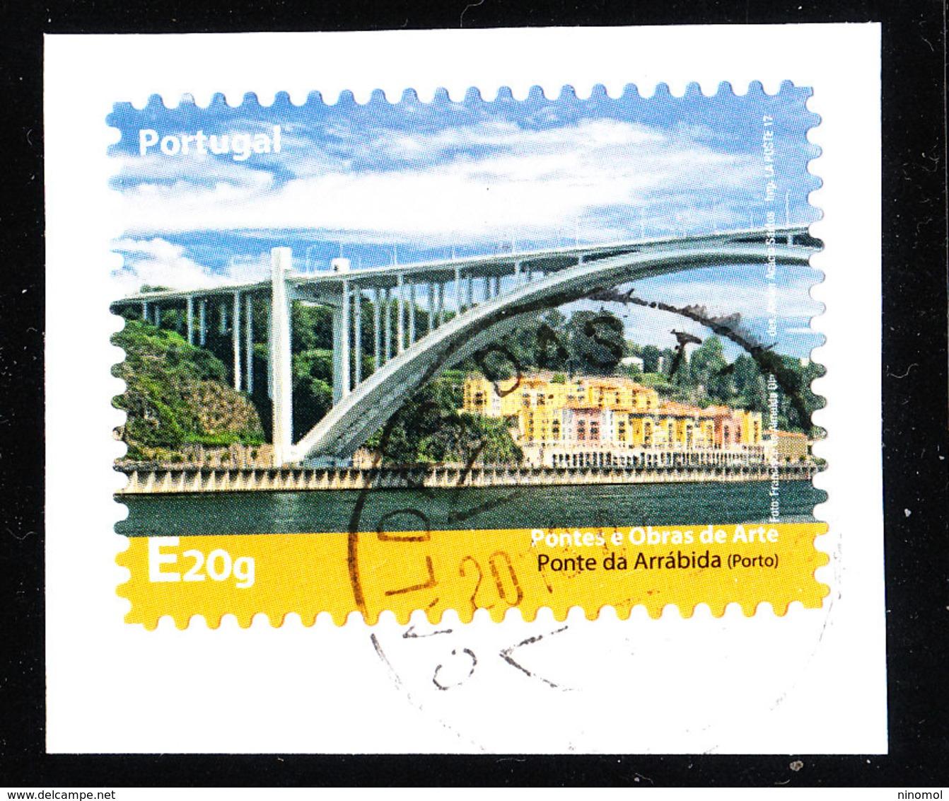 Portogallo   -   2017. Ponte Arrabida. Self Adhesive - Ponti