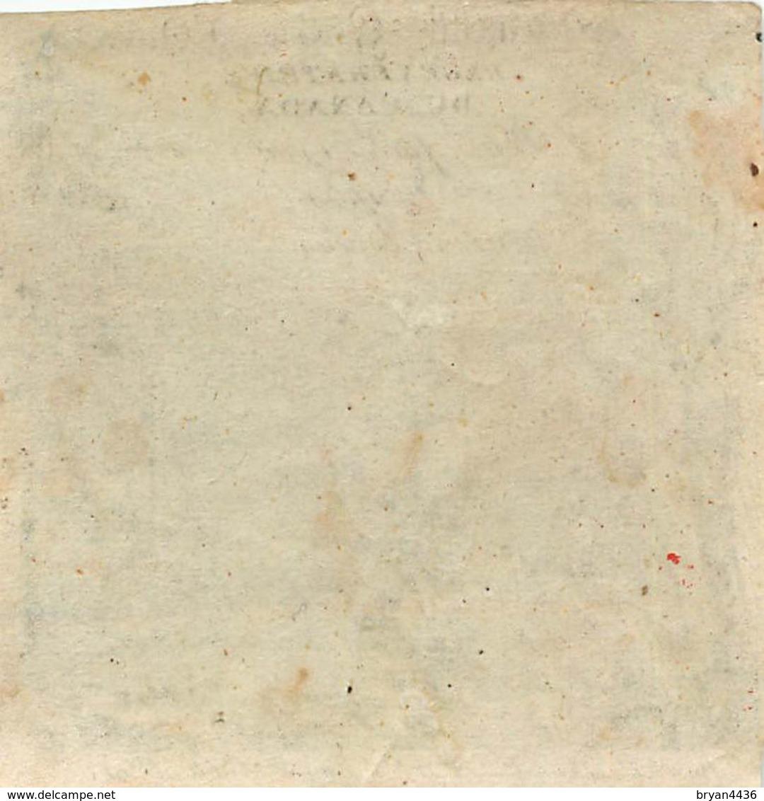 "PARFUMEUR; P. DISSEY  - N° 3 RUE SAINT MARTIN à PARIS - TRES RARE IMAGE ETIQUETTE XVIII° (7 X 7cm) - ""REGENERATEUR OURA"" - Perfume Cards"