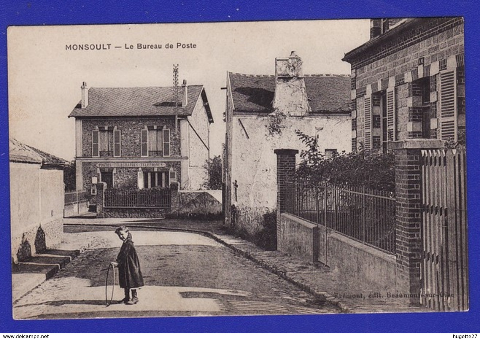 Monsoult Ou Montsoult Bureau De Poste :Très Très Bon état : +5027) - Montsoult