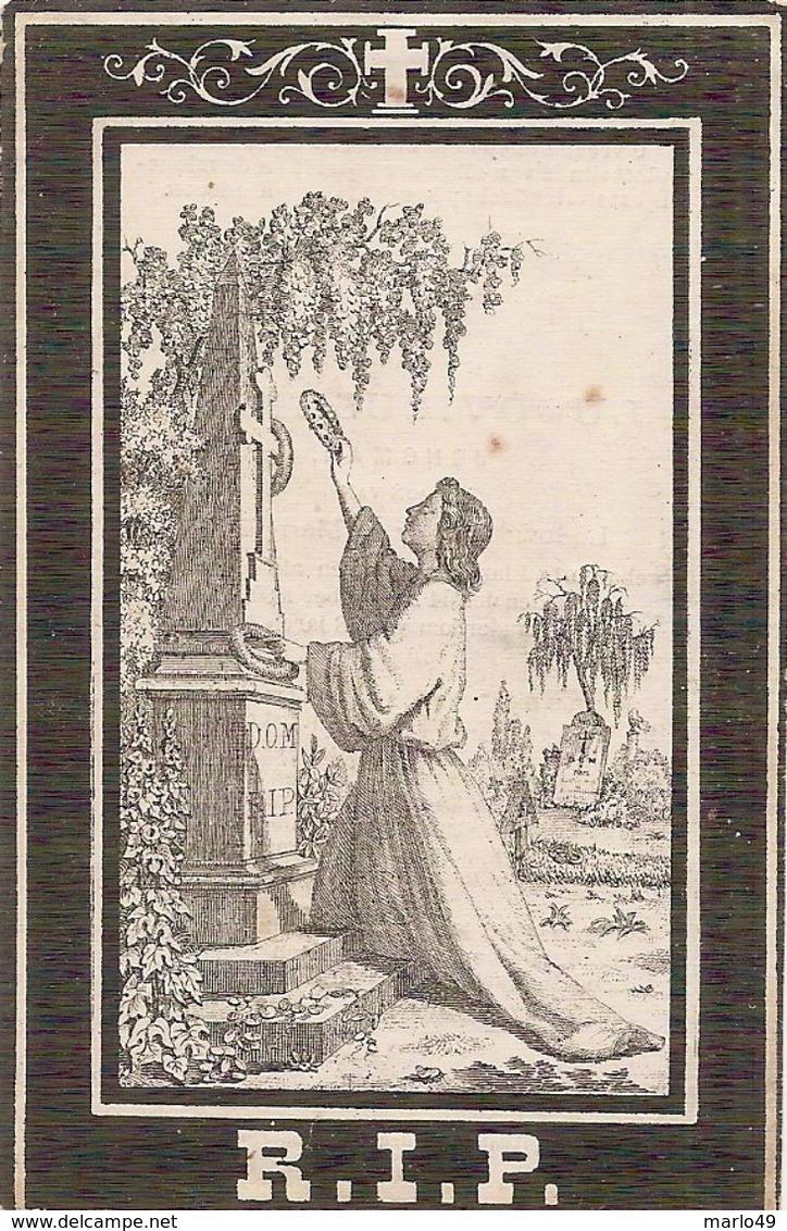 DP. LUDOVICUS MAES ° BLANKENBERGHE - + 1880 - 58 JAAR - Religion & Esotericism