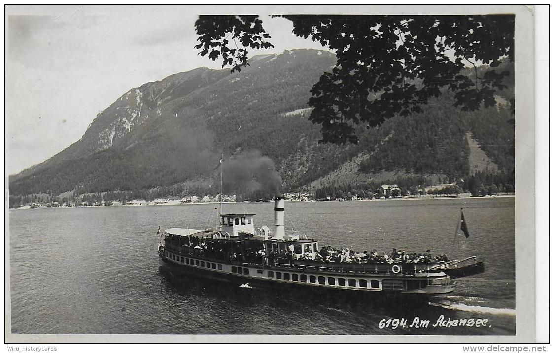 AK 0848  Achensee ( Dampfer ) - Verlag Ritzer & Kofler Ca. Um 1930 - Achenseeorte