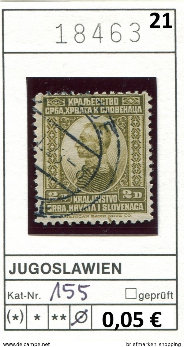 Jugoslawien - Yougoslavie - Jugoslavija - Michel 155 - Oo Oblit. Used Gebruikt - 1931-1941 Königreich Jugoslawien