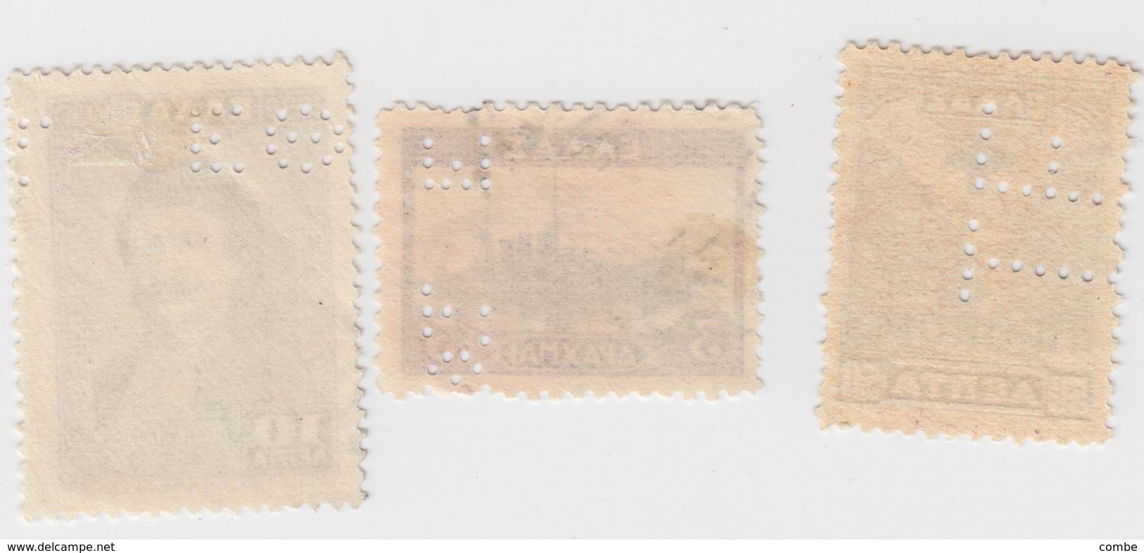 GREECE LOT PERFIN   / 7 /  7502 - Grèce