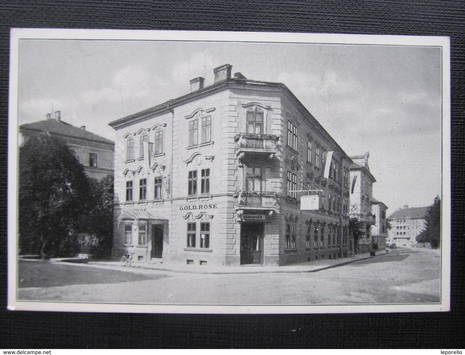 AK SALZBURG Hotel Goldene Rose Parazelsusgasse /  D*30138 - Salzburg Stadt