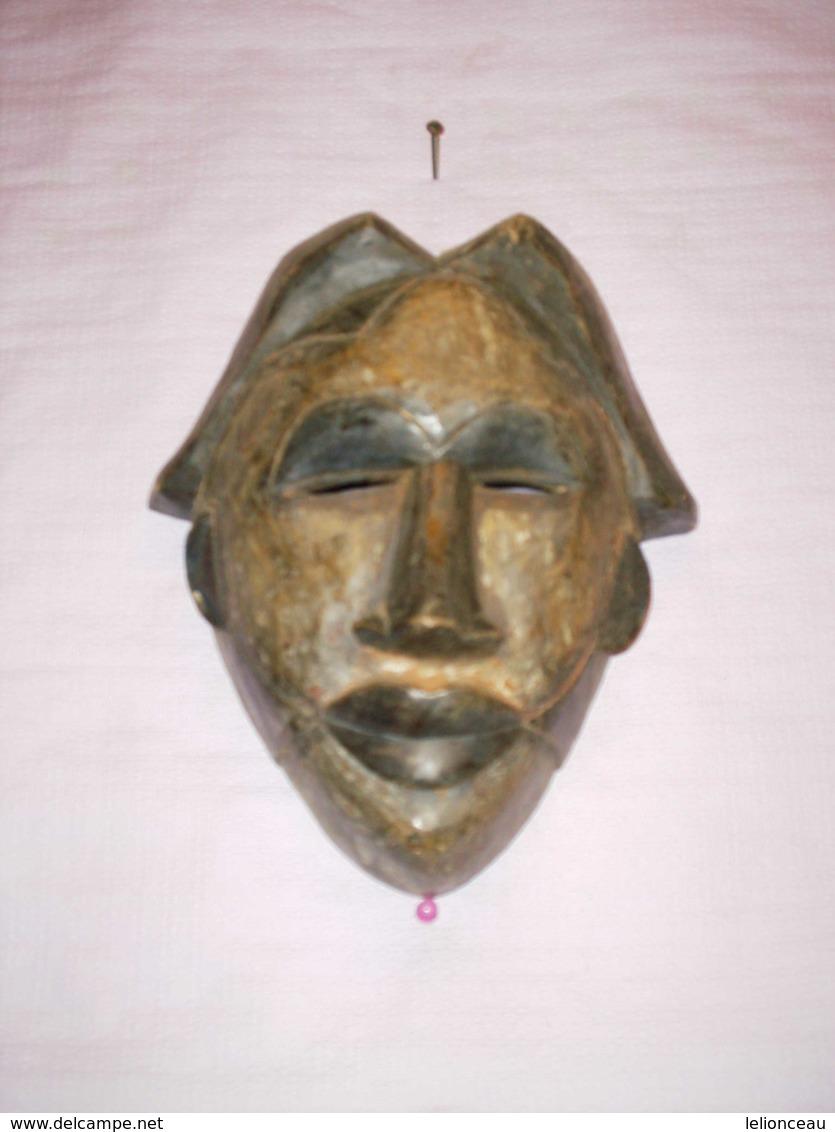 Art  Africain  Masque Du Cameroun - Art Africain