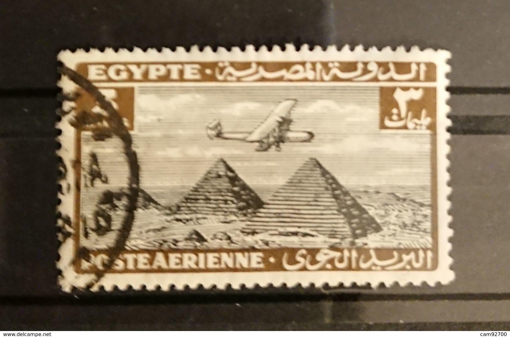 Egypte - 1933 YT PA 7 -  Oblitéré Poste Aérienne - Poste Aérienne