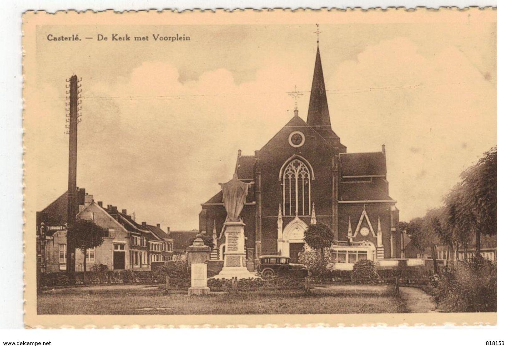 Casterlé. - De Kerk Met Voorplein - Kasterlee