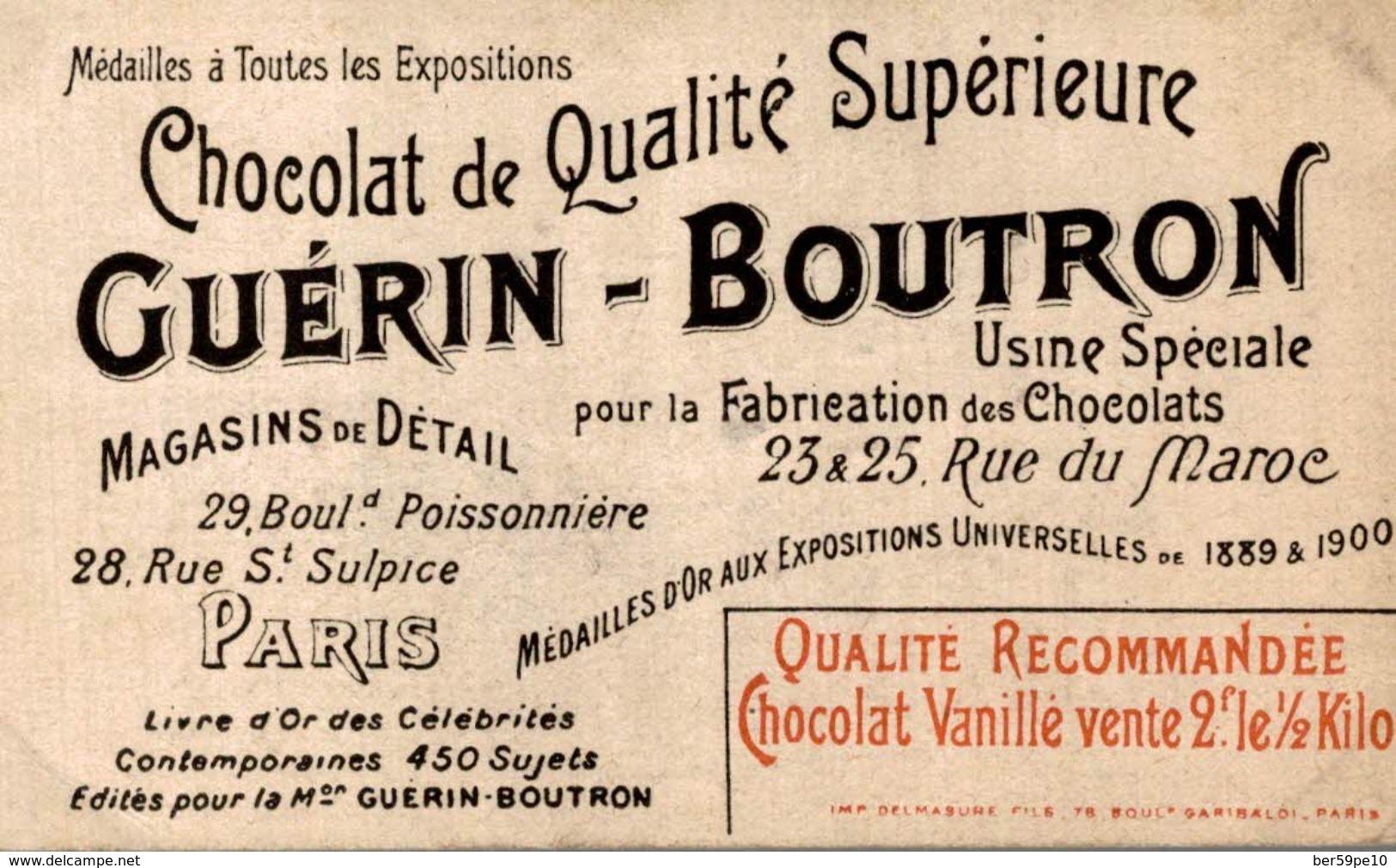CHROMO CHOCOLAT GUERIN-BOUTRON  17 PRINCE DE GALLES - Guerin Boutron