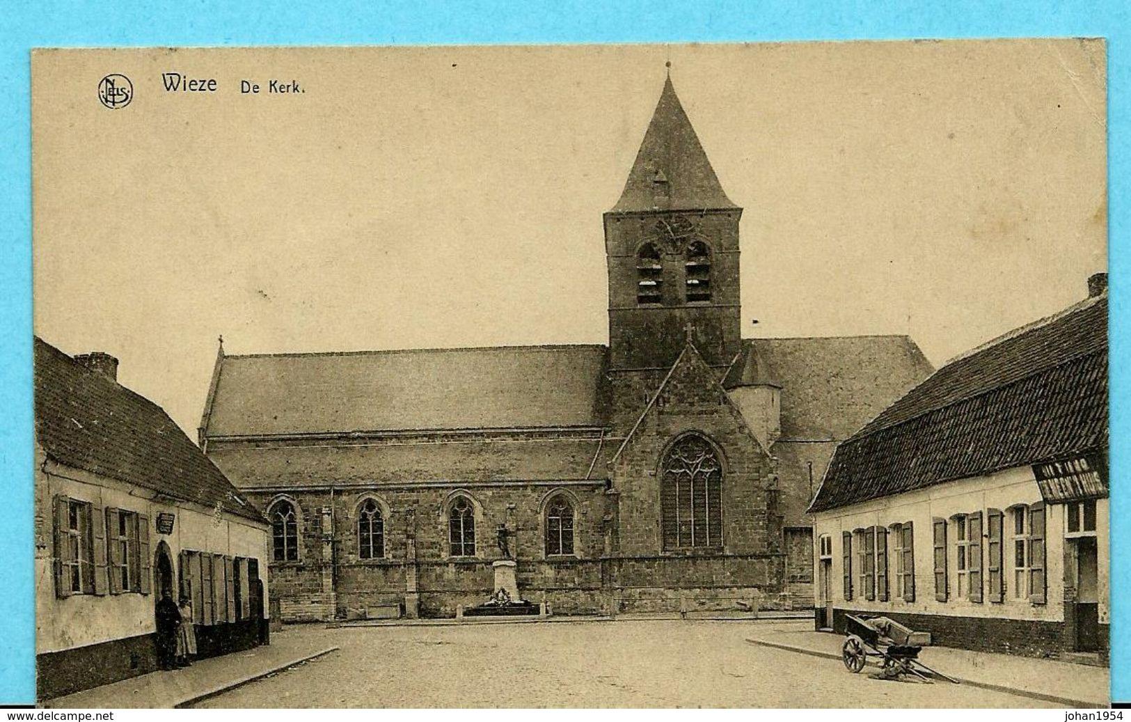 WIEZE - De Kerk - Lebbeke