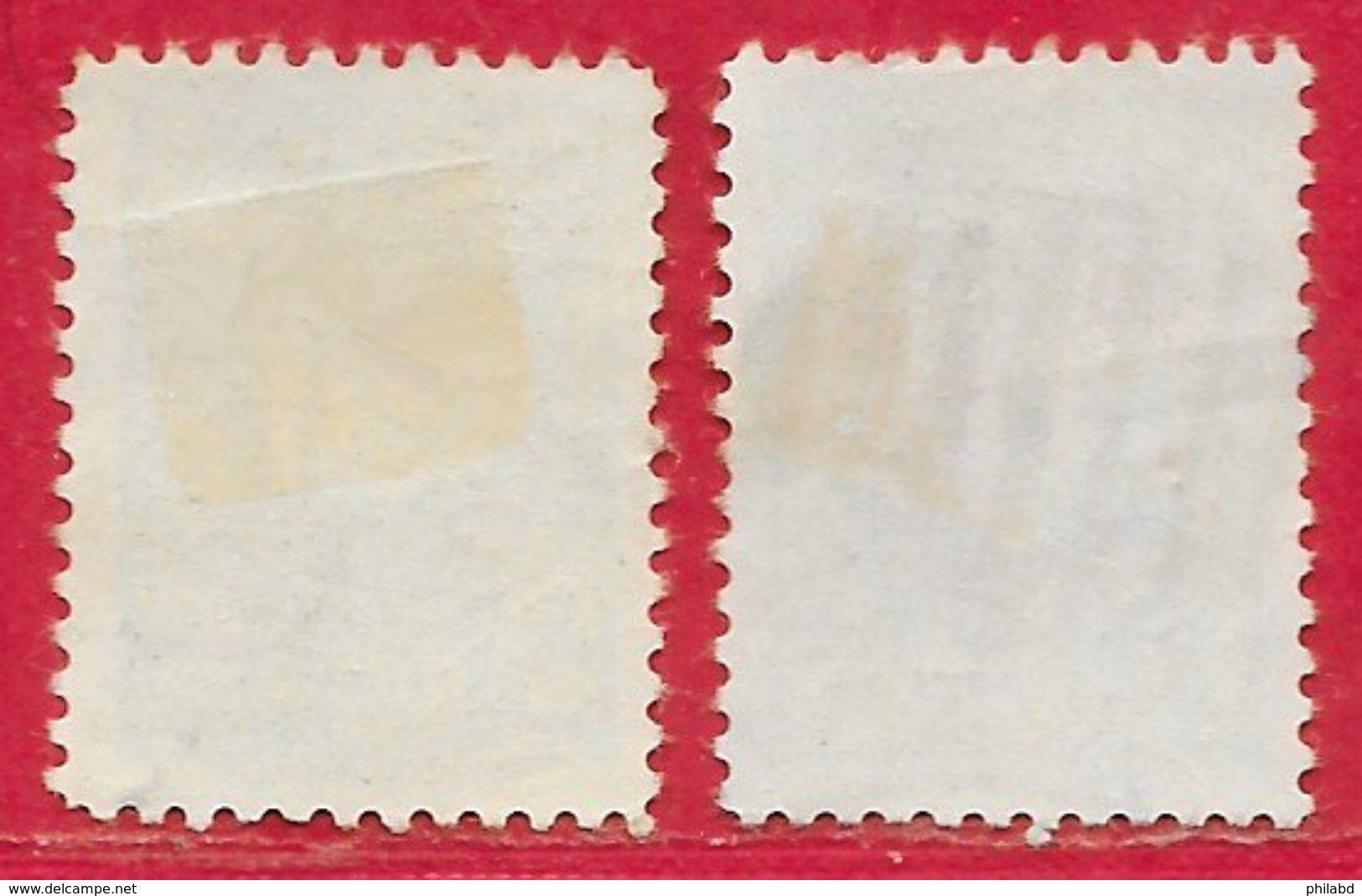 Colombie N°224 & 222 (surchargé) 1918 O - Colombia