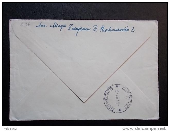 2136 - ZRENJANIN - Covers & Documents