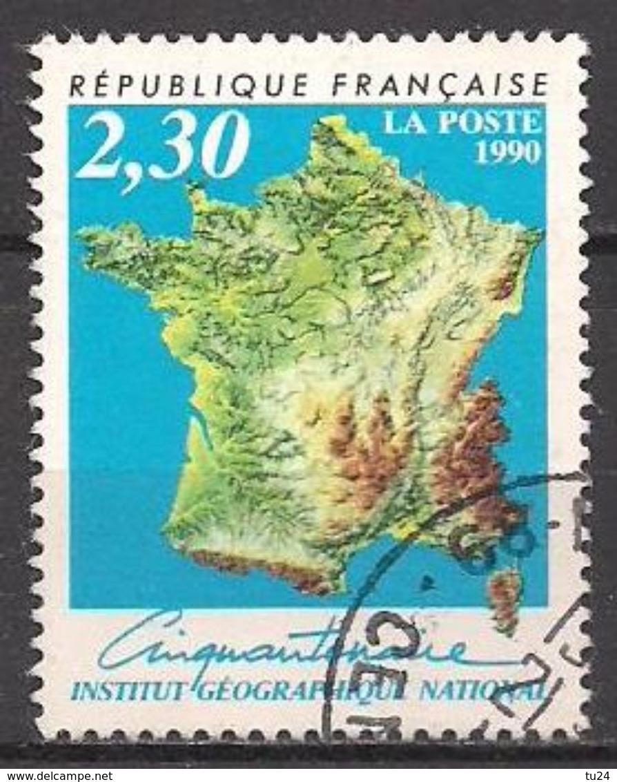 Frankreich  (1990)  Mi.Nr.  2798  Gest. / Used  (14eu20) - Frankreich