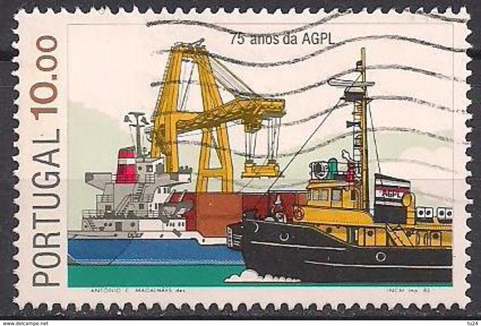 Portugal  (1983)  Mi.Nr.  1583  Gest. / Used  (17eu12) - 1910-... Republiek