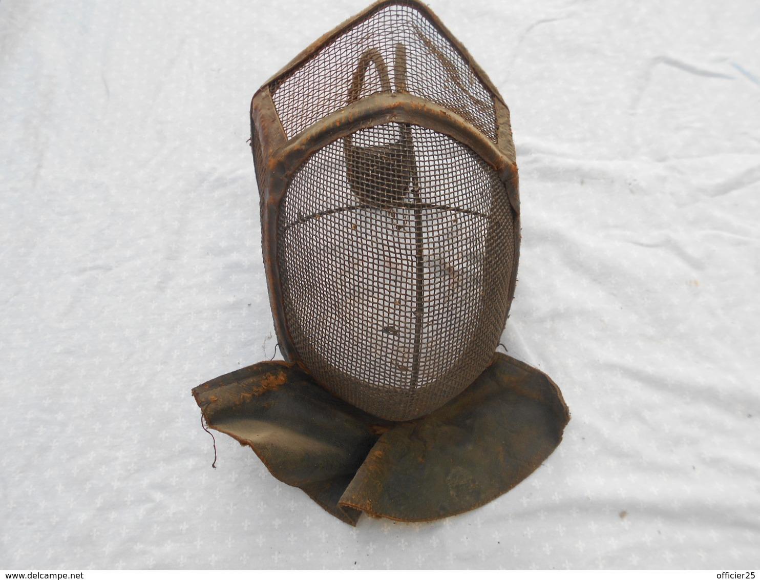 Casque D Escrime 19 Siecle - Headpieces, Headdresses