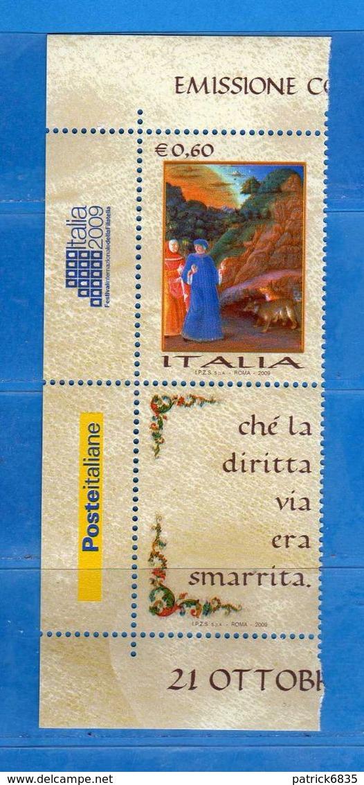 Italia ** - 2009 - La LINGUA ITALIANA,  .  MNH   Vedi Descrizione. - 6. 1946-.. Repubblica