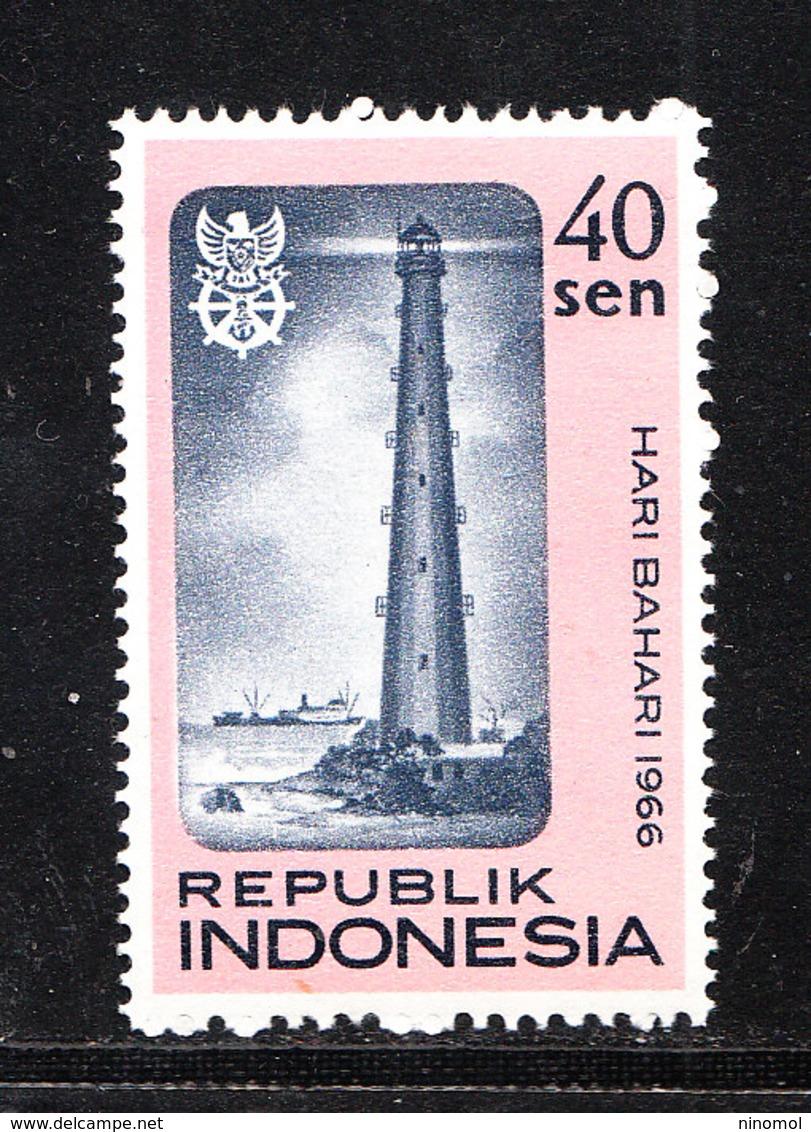 Indonesia   -   1966.  Faro. MNH - Fari