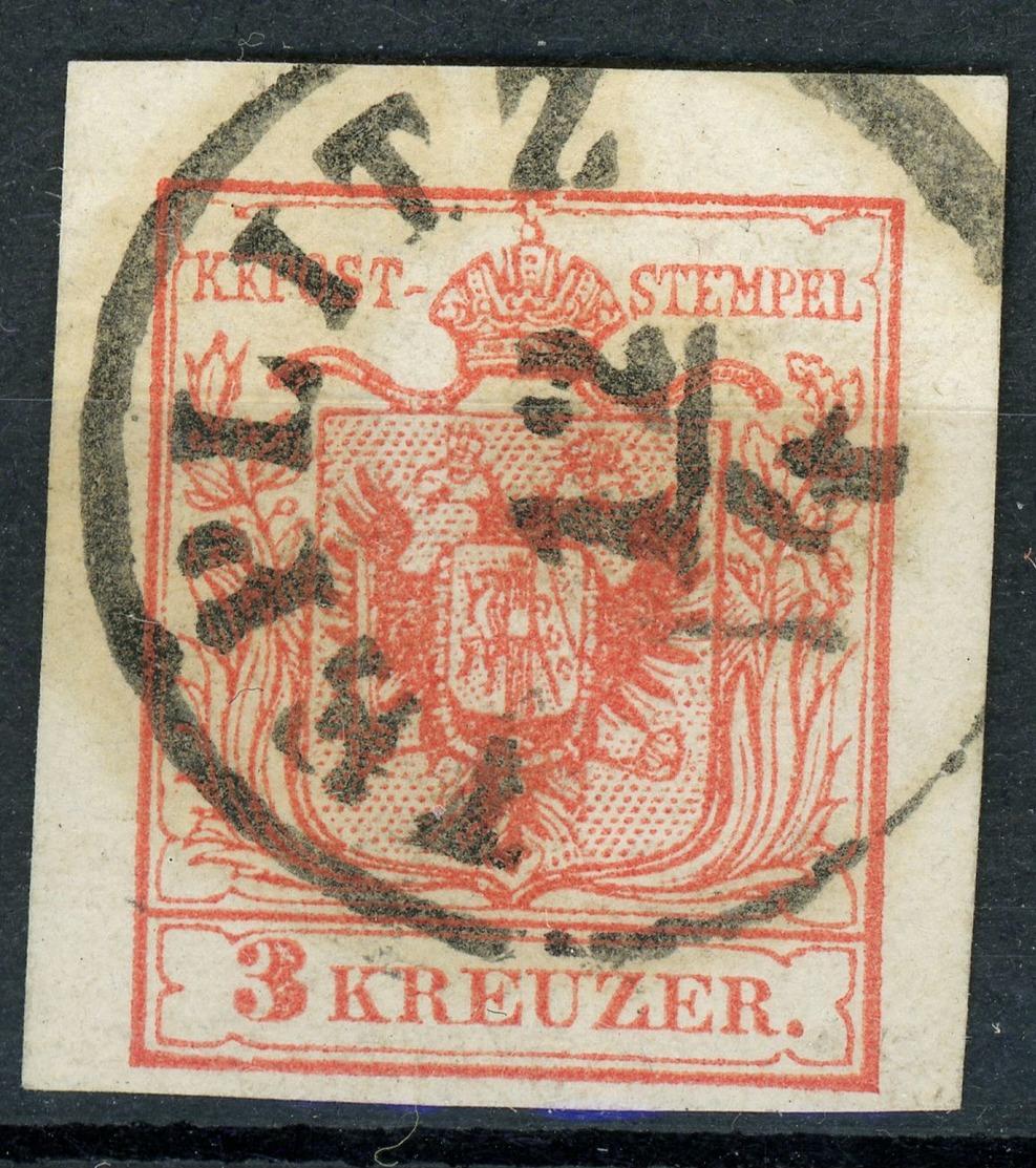 """TREPLITZ"" Vollstempel Breitrandige Nr. 3 - 1850-1918 Imperium"