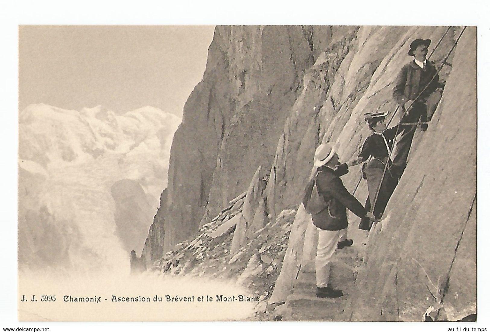 CHAMONIX , ASCENSION DU BREVENT - Chamonix-Mont-Blanc