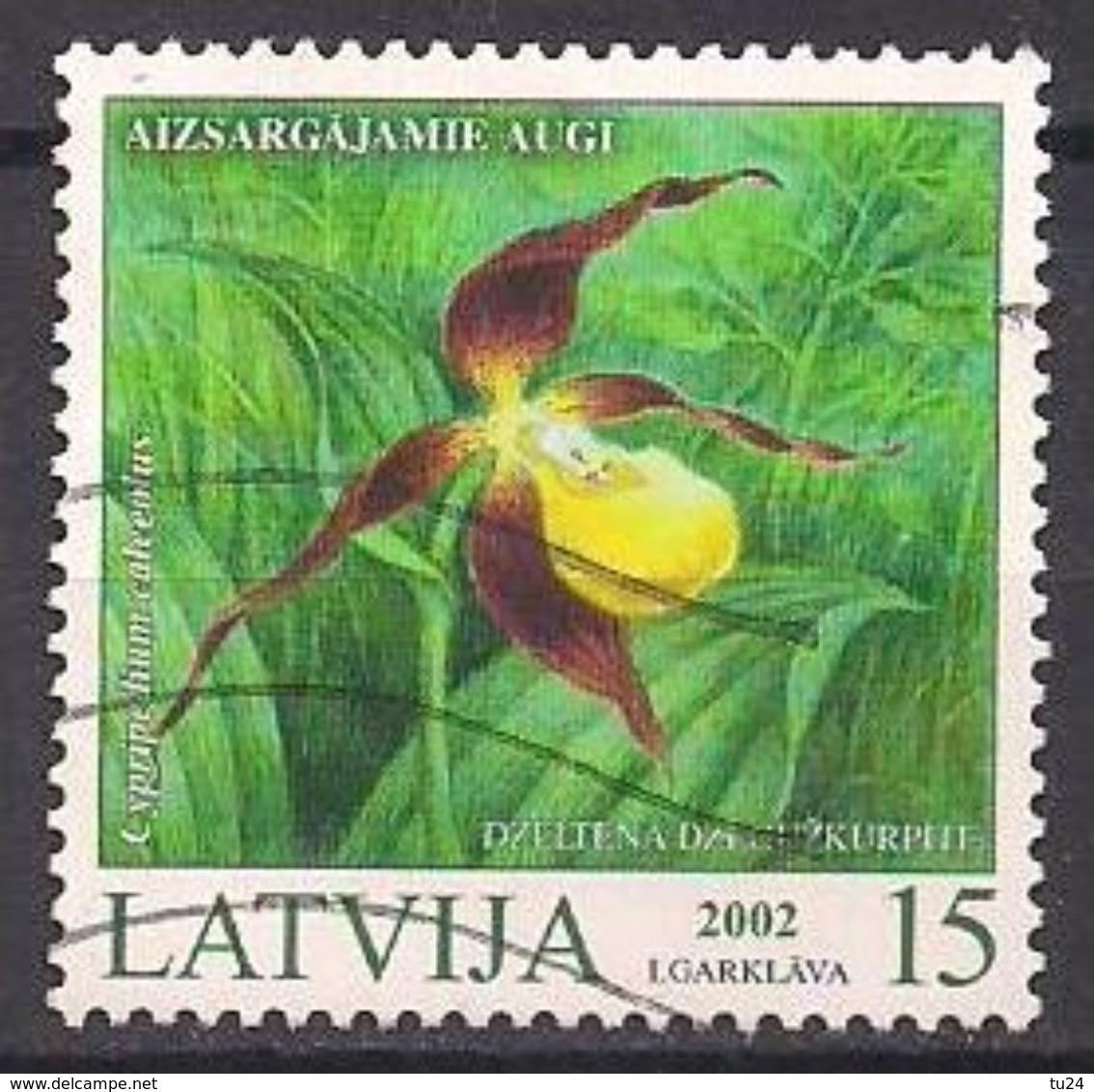 Lettland  (2002)  Mi.Nr.  569  Gest. / Used  (1eh21) - Lettland