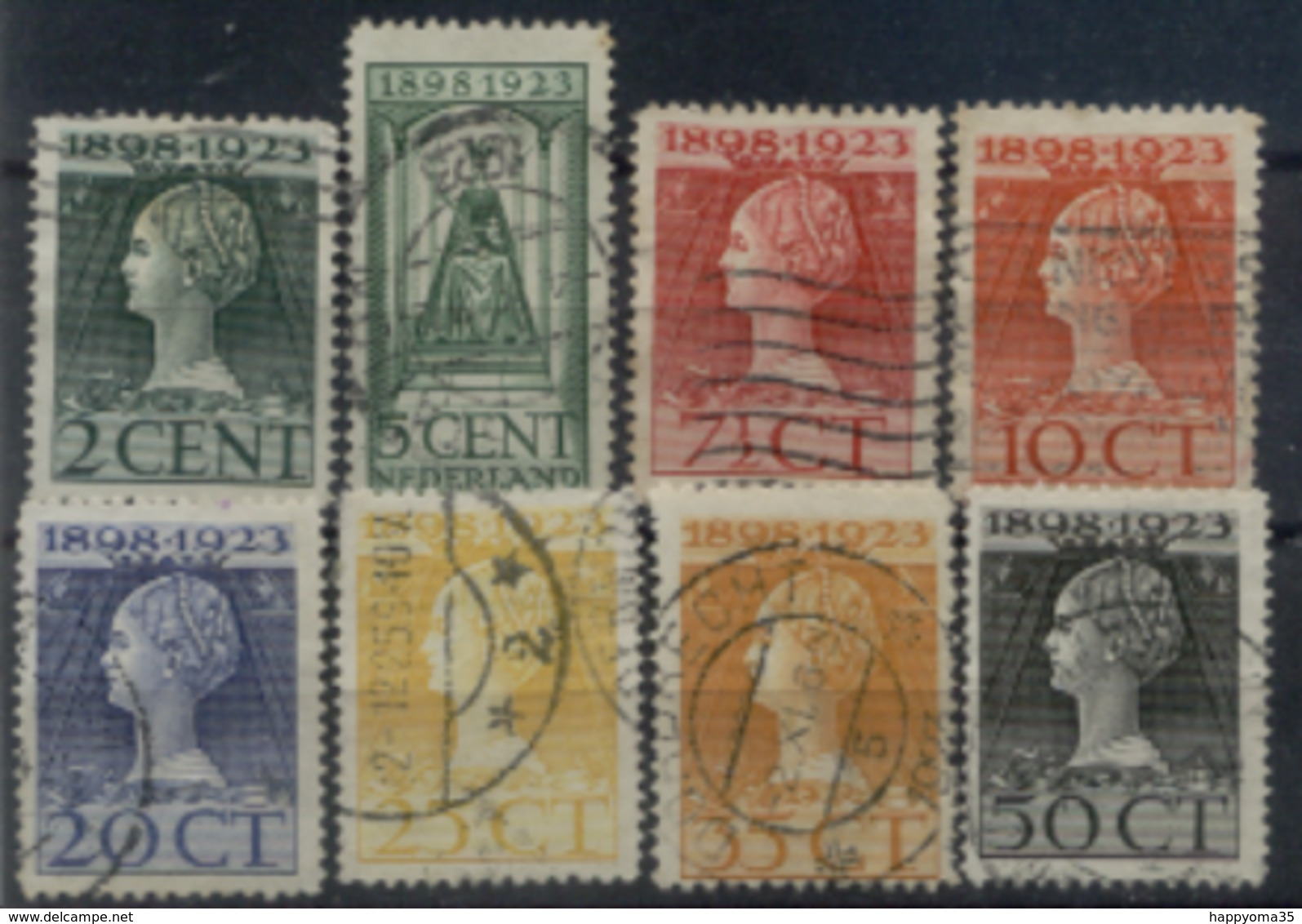 Niederlande 121 - 128 Mix Set Stamps Of Netherlands Pays-Bas Los Países Bajos Nederland Small Selection Used 6970 - 1891-1948 (Wilhelmine)