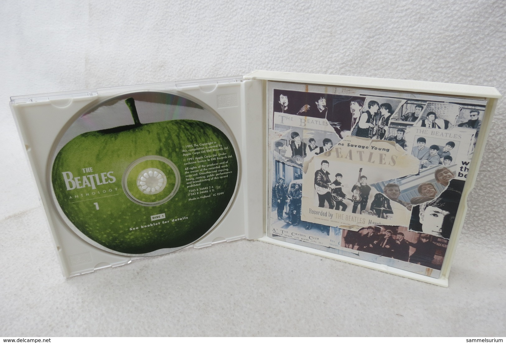 "2 CDs ""The Beatles"" Anthology 1 - Disco, Pop"