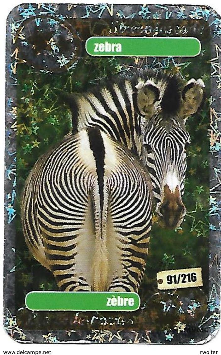 @ + Carte WWF - Zebra / Zebre - Autres