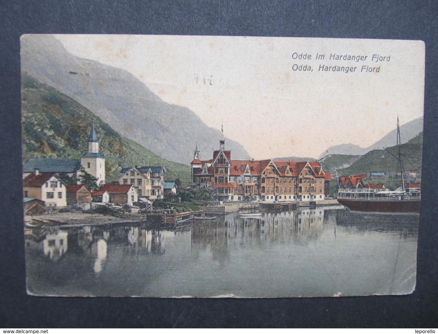 AK ODDE Hardanger Fjorn 1910 ///  D*30417 - Norwegen