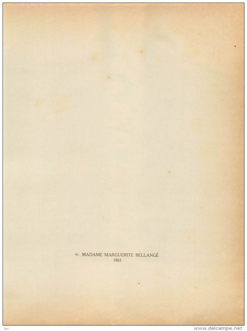 CHEVAL : MADAME MARGUERITE BELLANGE - 1865 - Photographs