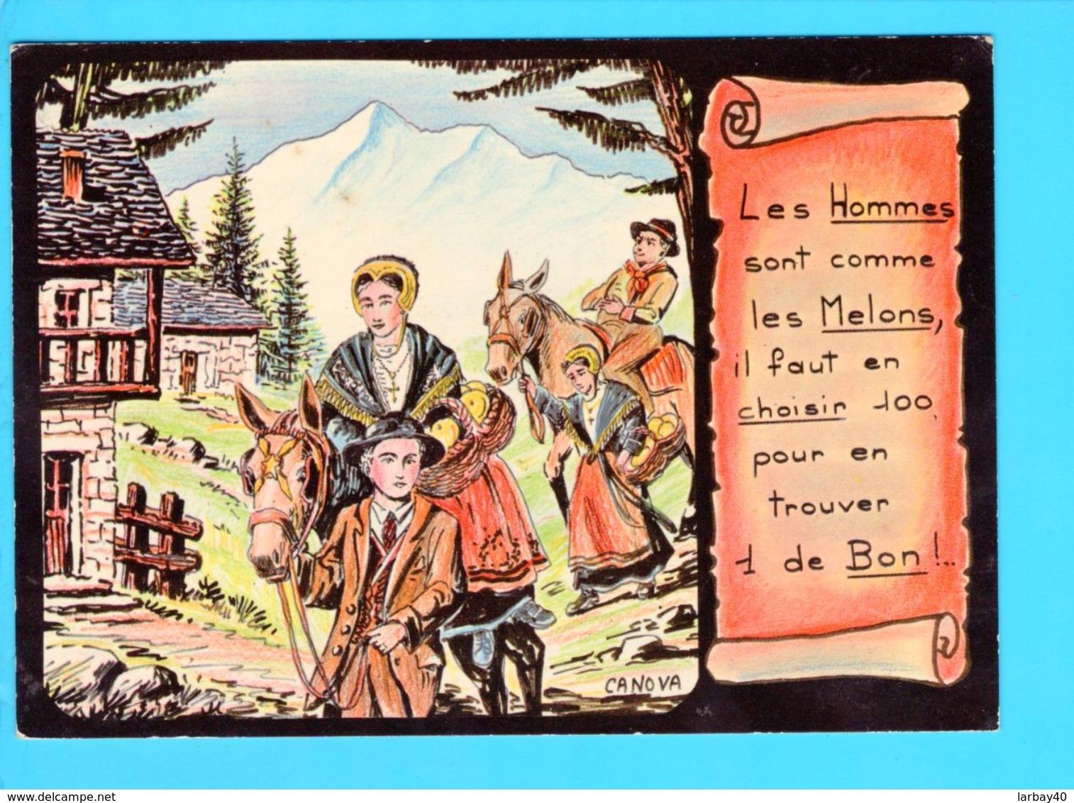 Cp Cartes Postales  - Humour  Hillustrateur Canova - Humour