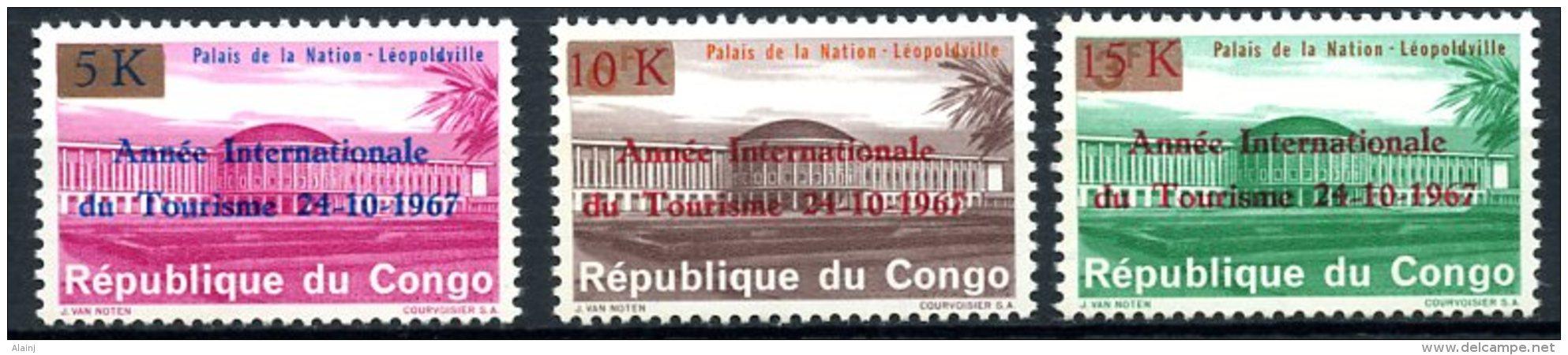 République Démocratique Du Congo   660 - 662   XX    --- - Neufs