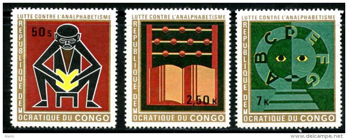 République Démocratique Du Congo   797 - 799   XX    --- - Neufs