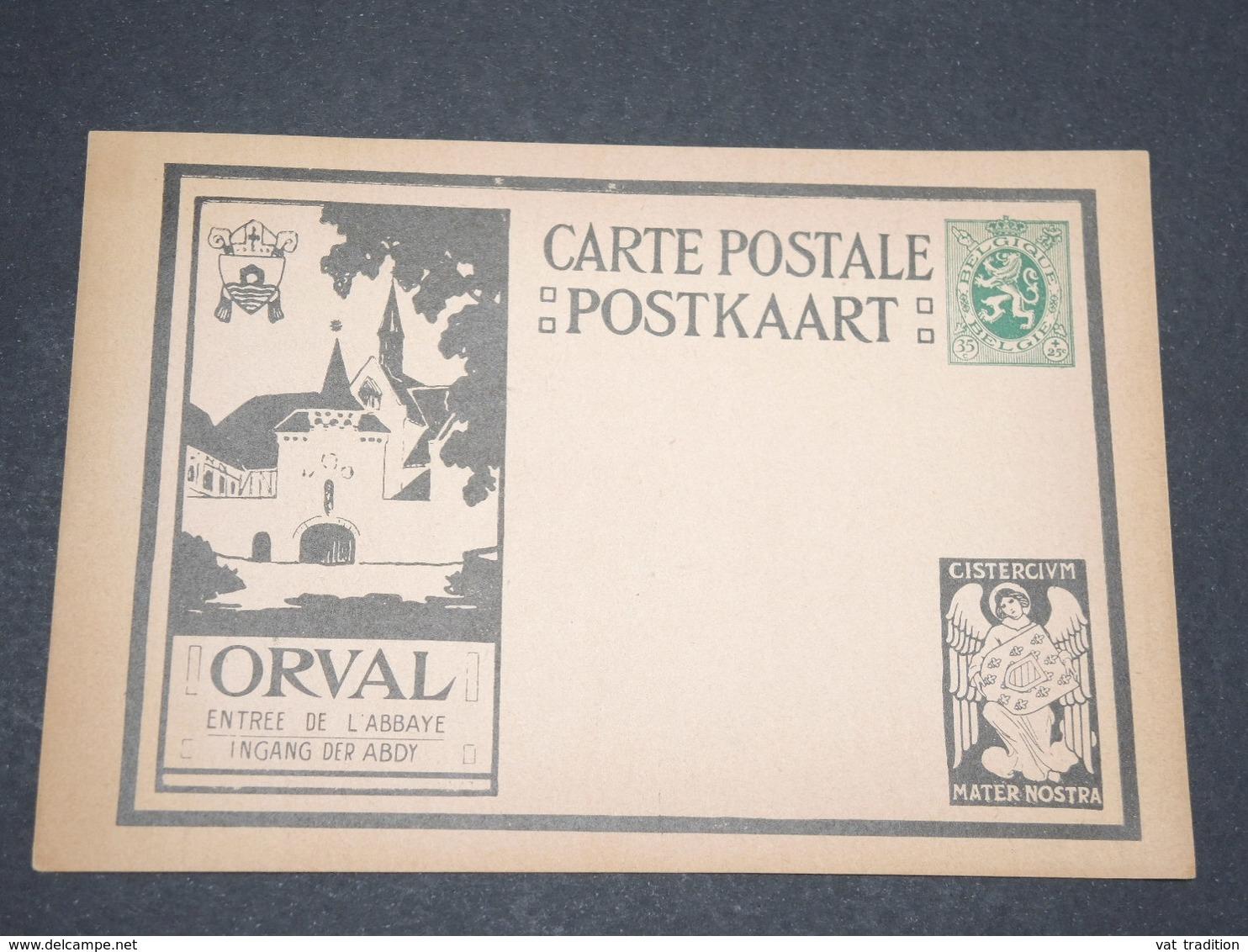 BELGIQUE - Entier Postal Illustré De Orval - L 13327 - Entiers Postaux