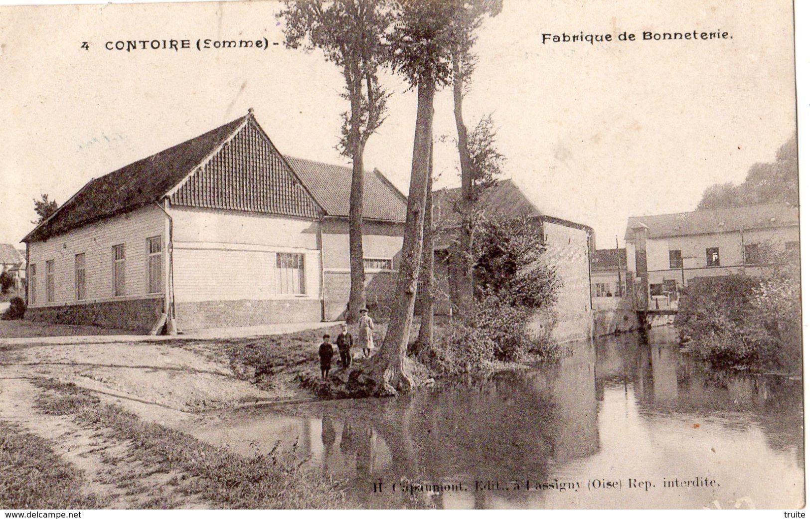 CONTOIRE FABRIQUE DE BONNETERIE - France