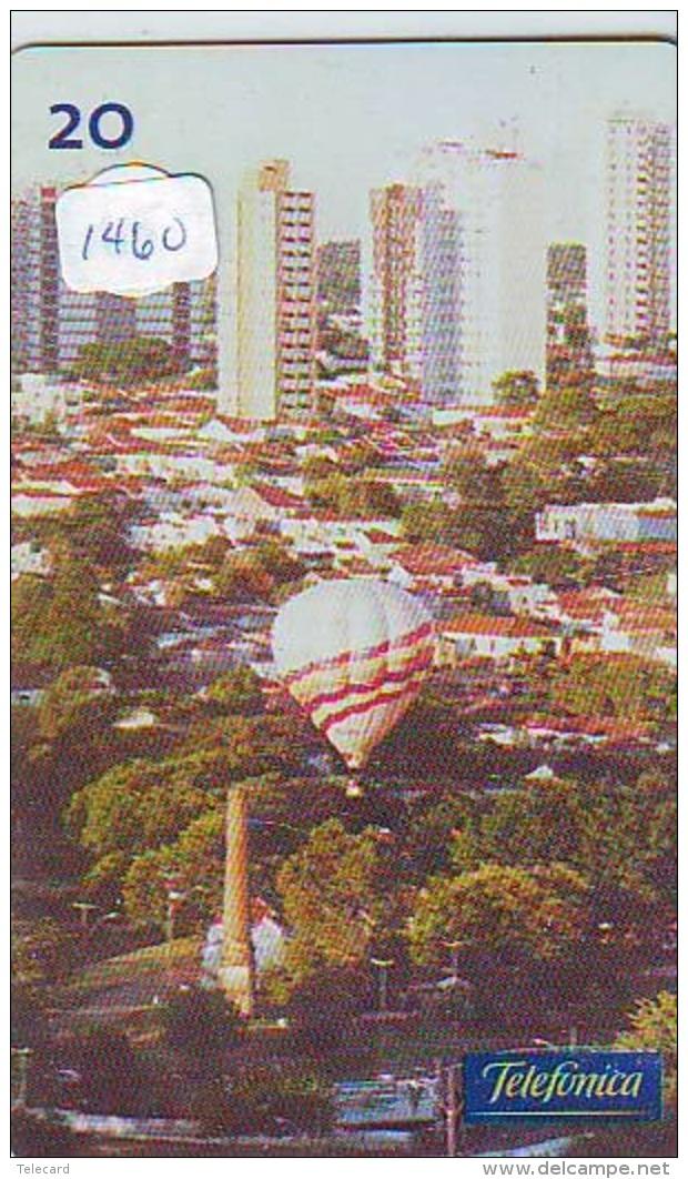 Telecarte  JAPON * SPORT * MONTGOLFIERE (1460) Hot Air Balloon * Ballon * Aerostato  * TELEFONKARTE * PHONECARD JAPAN * - Sport