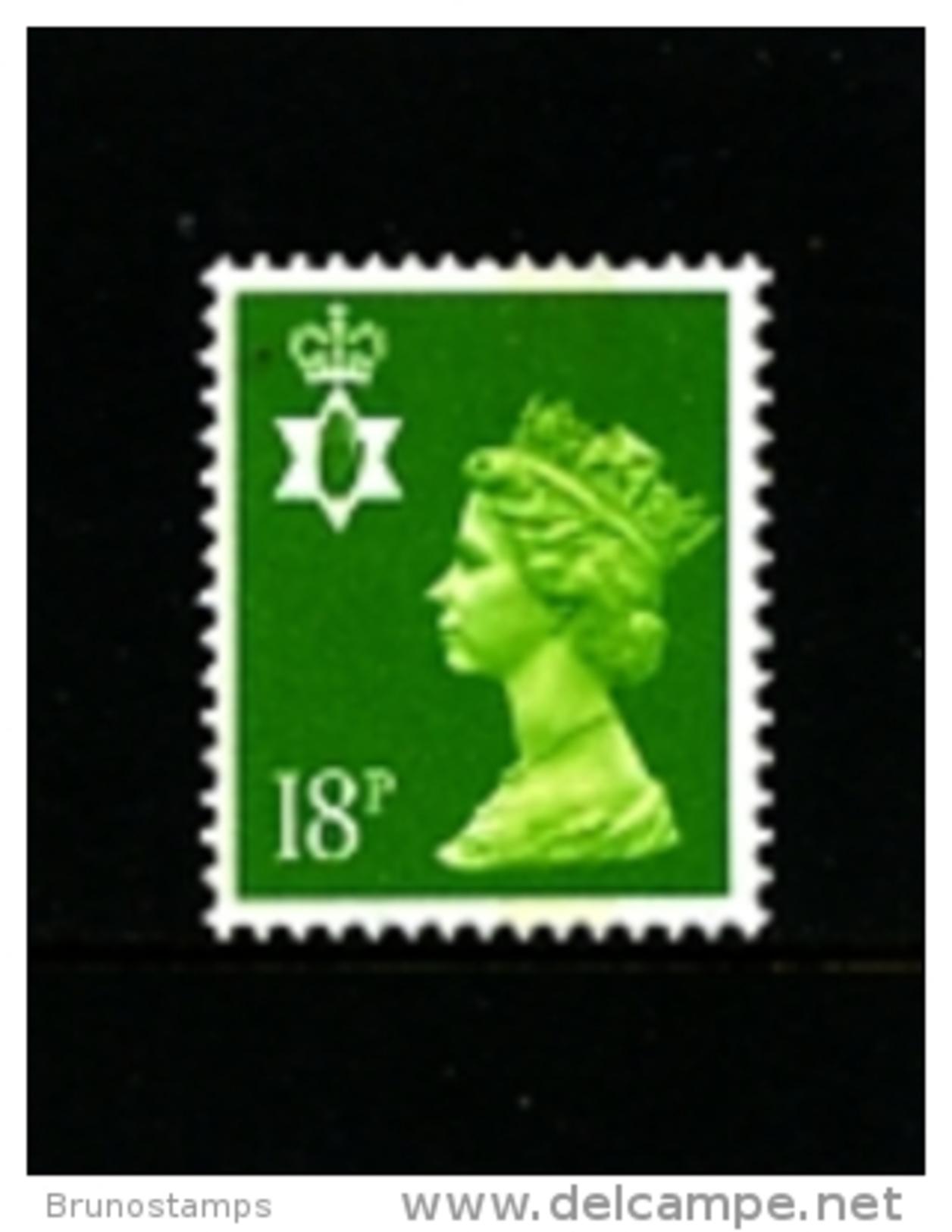 GREAT BRITAIN - 1991  NORTHERN IRELAND  18 P.  MINT NH   SG  NI47 - Irlanda Del Nord