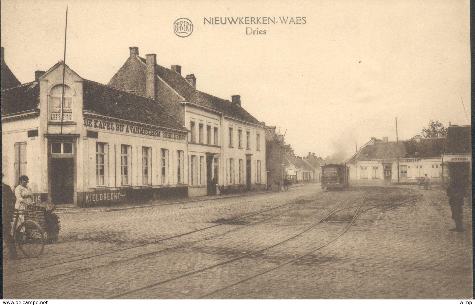 Nieuwkerke-Waes  Dries Met STOOMTRAM !!! - Sint-Niklaas