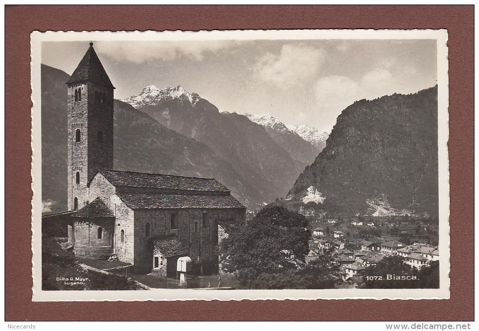Ticino - BIASCA - Chiesa - TI Tessin