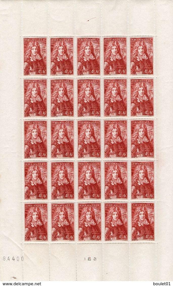Feuille De 25 Timbres Neufs N° 600 De 1944 (voir Le Scan) - Fogli Completi