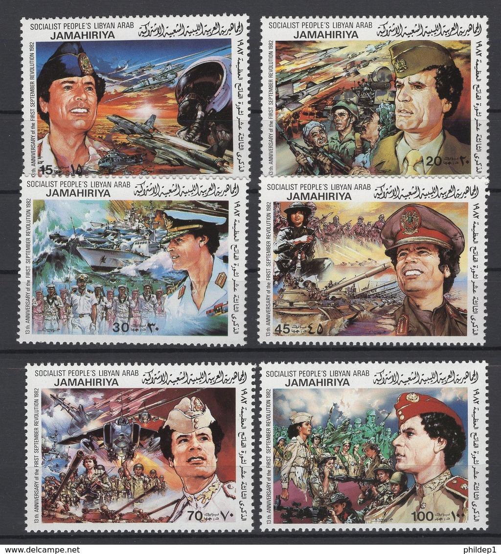 Libye. Y&T N° 1058/63. Neuf, **, MNH. Cote Y&T 2008 : 4 € - Libye