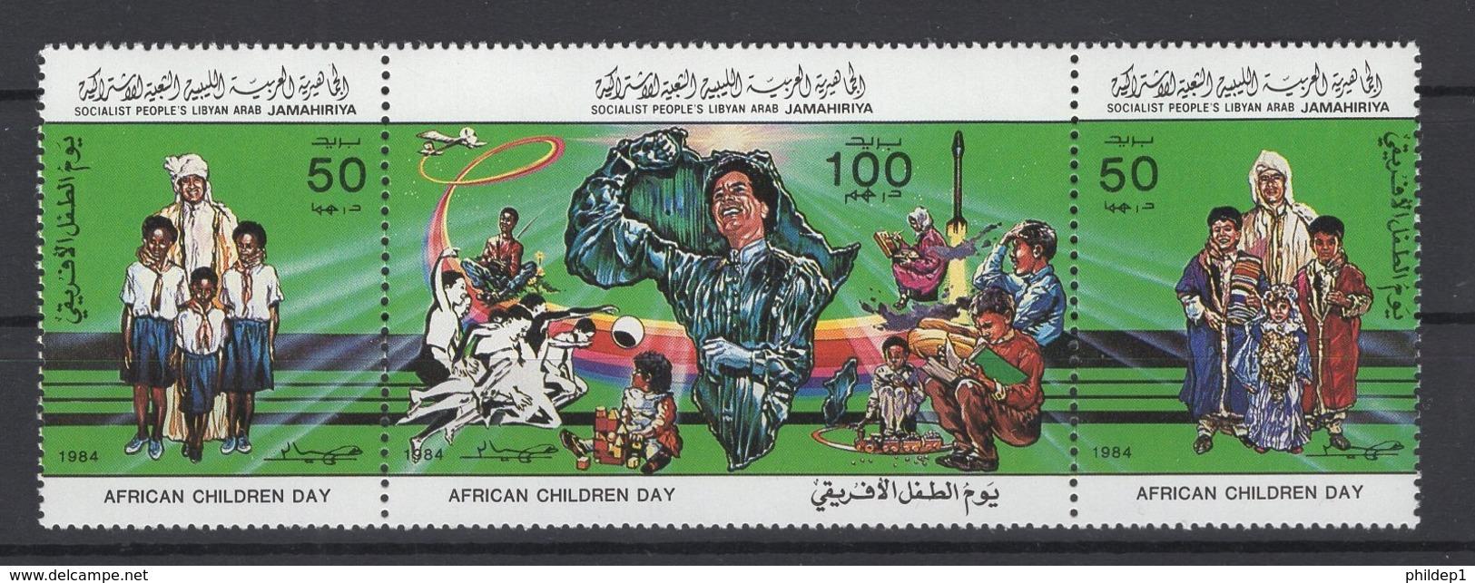 Libye. Y&T N° 1283/85. Neuf, **, MNH. Cote Y&T 2008 : 3,25 € - Libye