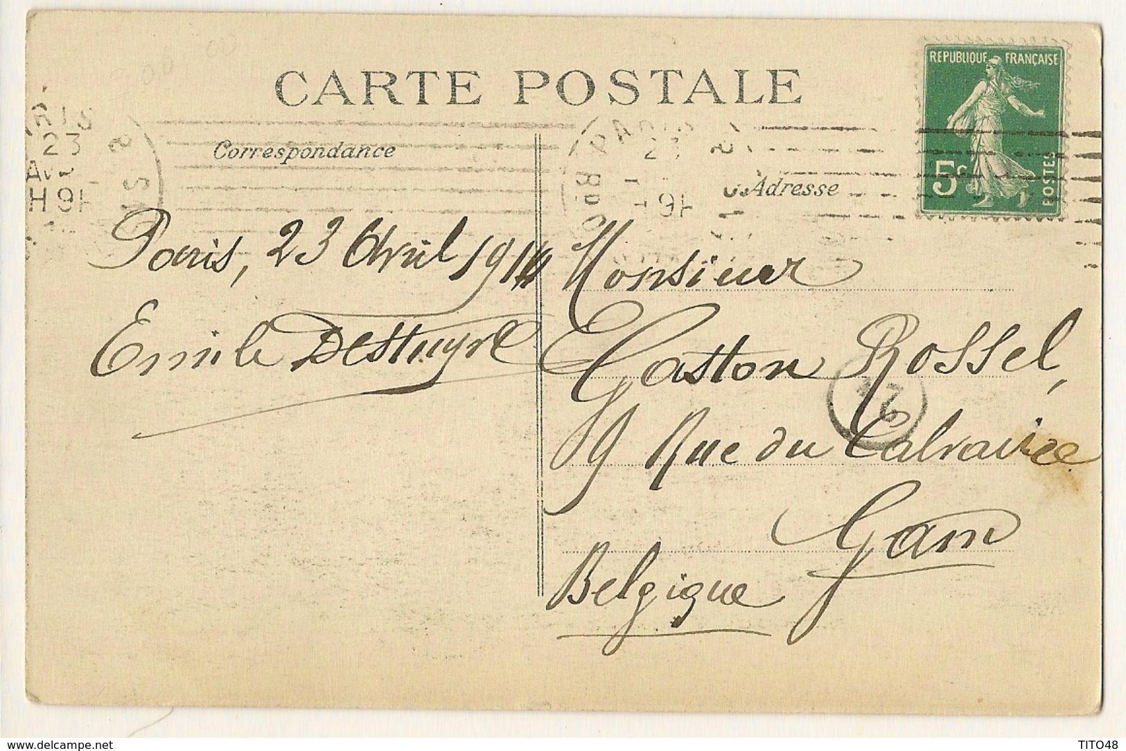 Visite Des Souverains Anglais à PARIS 1914 - ( Le Roi Georges V Et Poincaré ) - Autres