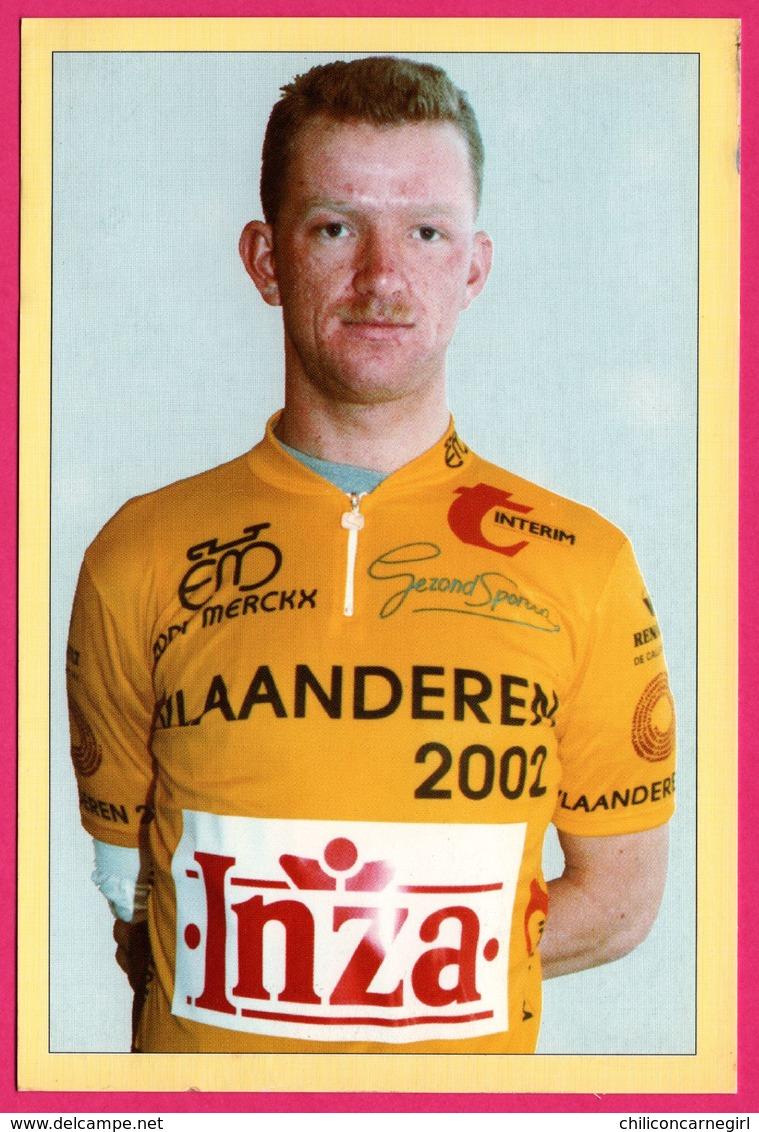 Cycliste - Cyclisme - DANNY DIERCKX - Eddy Merckk - Inza - Sponsor - Pub - Ciclismo