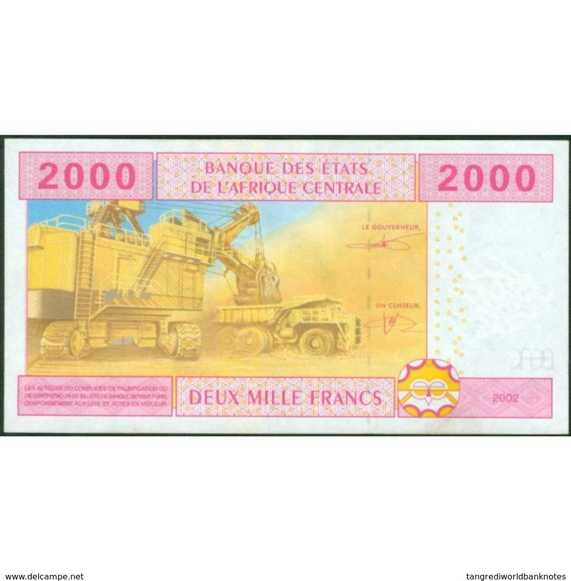 TWN - EQUATORIAL GUINEA (C.A.S.) 508F - 2000 2.000 Francs 2002 XF+ - Guinée Equatoriale