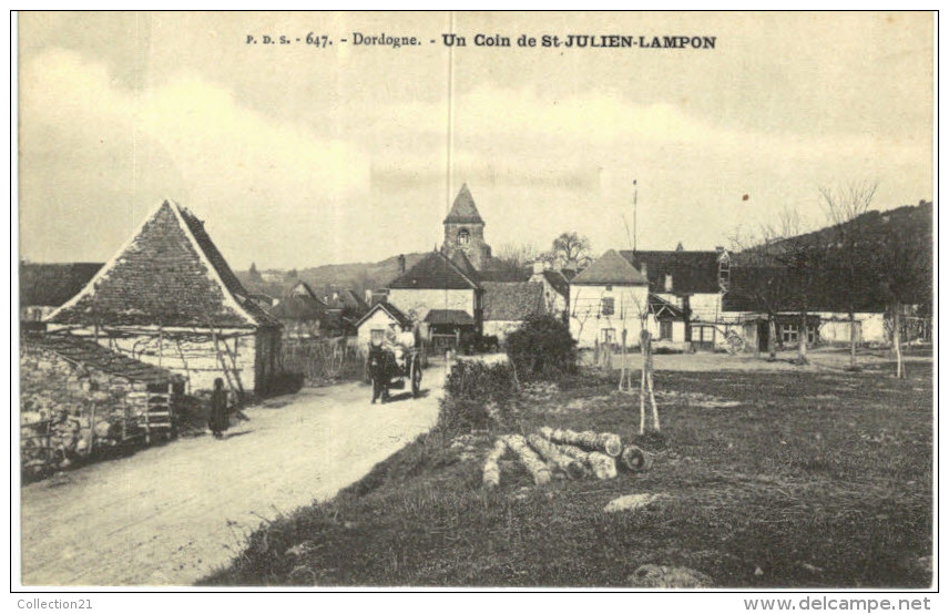 SAINT JULIEN LAMPON ... UN COIN - Frankreich
