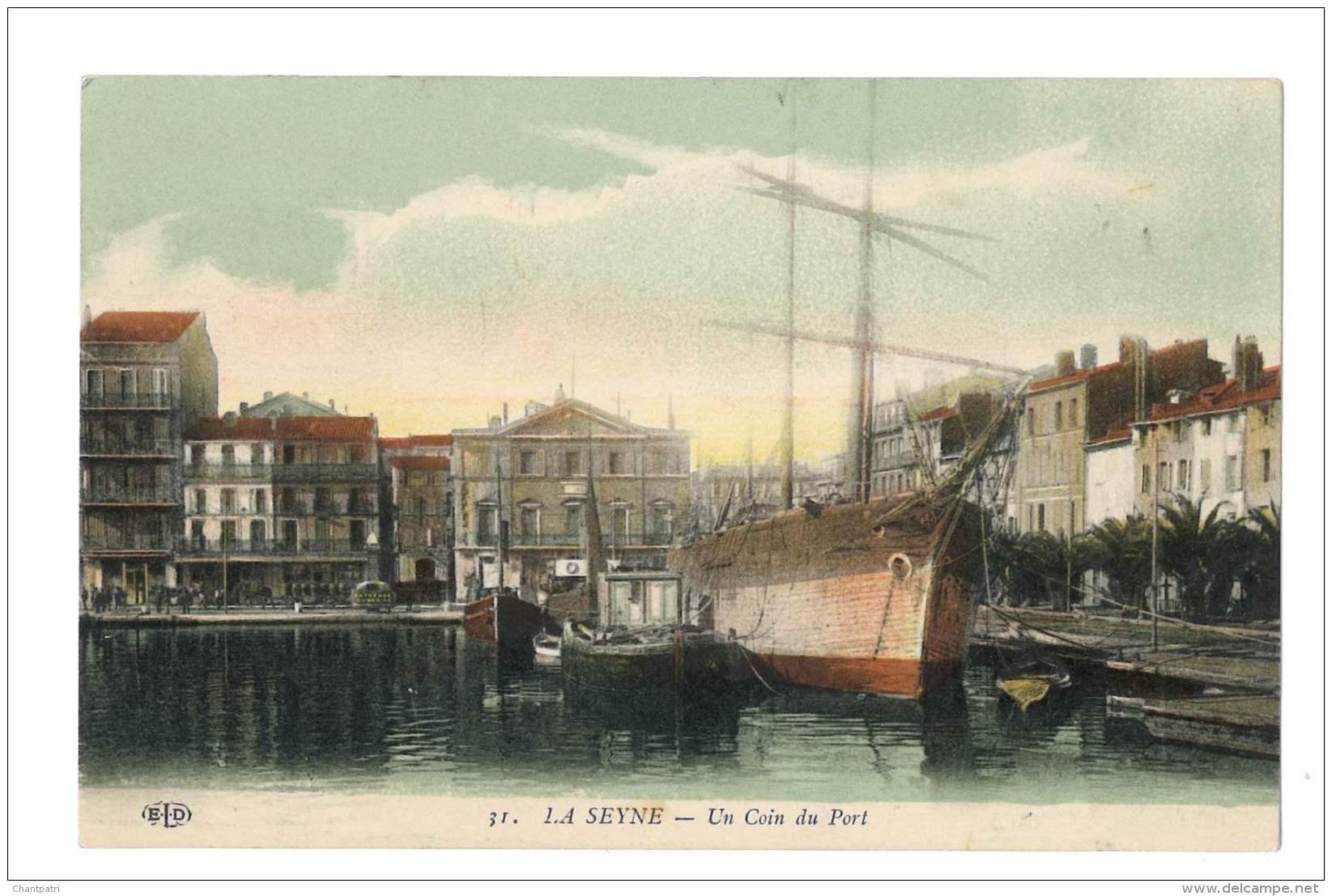 La Seyne - Un Coin Du Port - 320 - La Seyne-sur-Mer